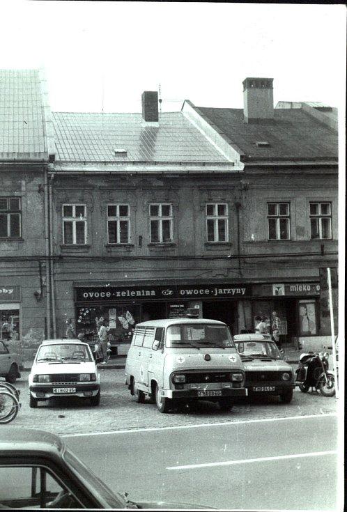 Nejvýchodnější české město Jablunkov v 80. letech minulého století