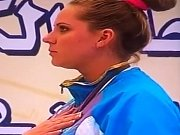 Udivené kazašské sportovkyni zahráli hymnu z filmu Borat