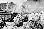 Vylodění 77. americké divize na plážích Kerama rettó