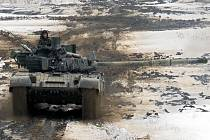 Vojenský prostor Libavá je většinou obsazený vojáky.