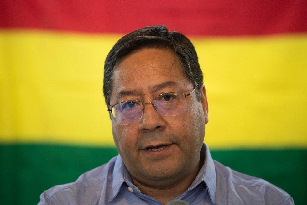 Nový bolivijský prezident Luis Arce