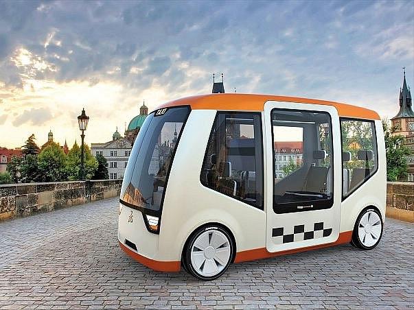 Vítězem soutěže Dassault Systemes Design Challenge, jejíž účastníci měli za úkol navrhnout podobu nového pražského taxi, se stal Španěl Diego Garcia s elektrickým konceptem Visitor (vizualizace na snímku).