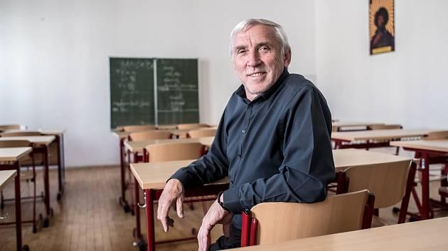 Jiří Růžička, pedagog a od roku 1990 ředitel Gymnázia Jana Keplera