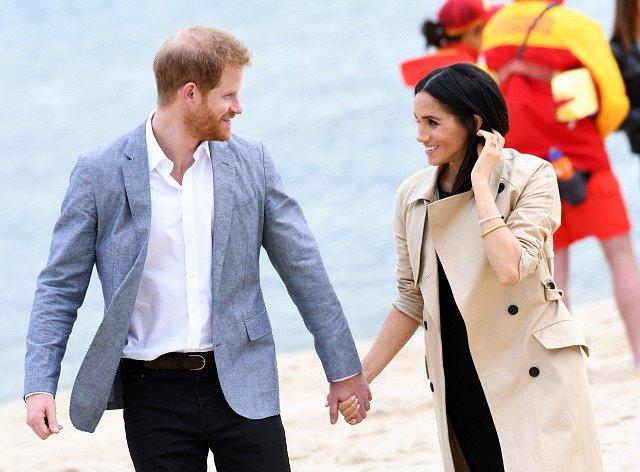 Princ Harry a vévodkyně Meghan v době svého těhotenství