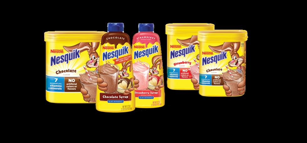Výrobky Nesquik