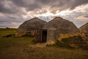 Rekonstrukce osídlení z doby bronzové, ilustrační foto