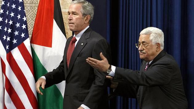 Americký prezident Bush slíbil, že palestinský stát vznikne do jednoho roku