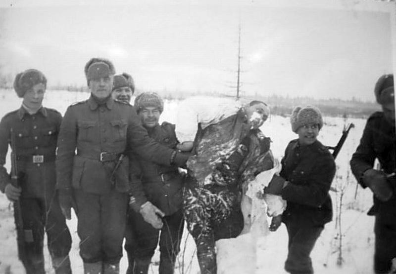 Finští vojáci v zimní válce