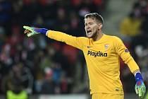 Brankář FC Sevilly Tomáš Vaclík.
