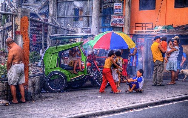 Ulice filipínské metropole Manily