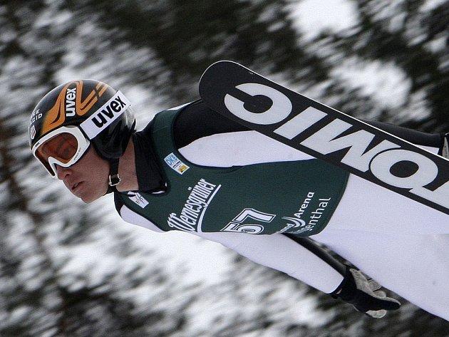 Američan Bill Demong se stal vítězem Světového poháru v Klingenthalu.