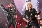 Vystoupení skupiny Queen s Adamem Lambertem v Praze.