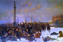 Krvavá neděle na obraze Wojciecha Kossaka