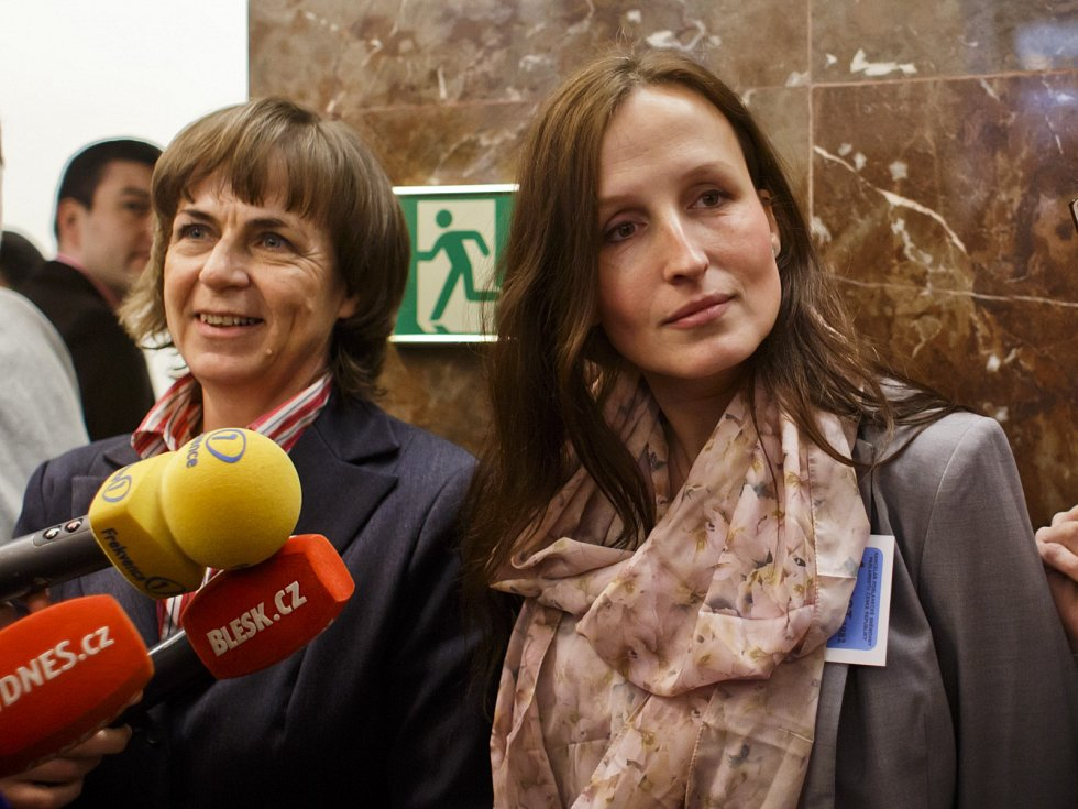 Jitka Chalánková (vlevo) s Evou Michalákovou