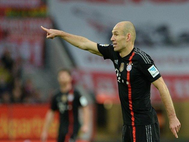 Opora Bayernu Mnichov Arjen Robben.