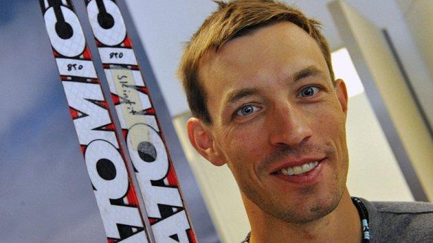 Bývalý mistr světa v běhu na lyžích Martin Koukal.