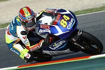 Jakub Kornfeil v GP Katalánska.