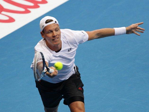Tomáš Berdych na soutěži International Premier Tennis League.
