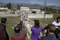 Do komplexu, kde byl dopaden bin Ládin, pákistánská policie média nepouští