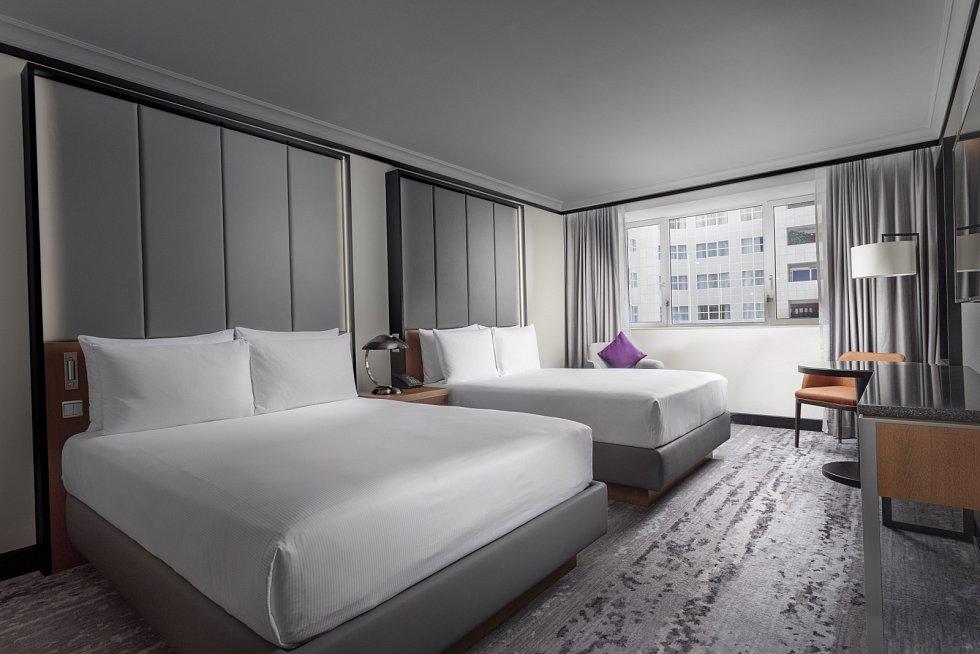 Hilton Prague – pokoj double queen