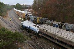 Srážka vlaků v Jižní Karolíně