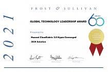 Síťové řešení Huawei CloudFabric 3.0 pro datová centra získává cenu Frost & Sullivan
