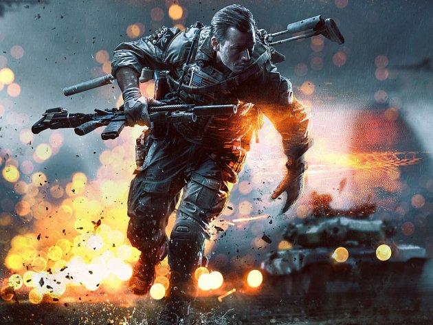 Počítačová hra Battlefield 1.
