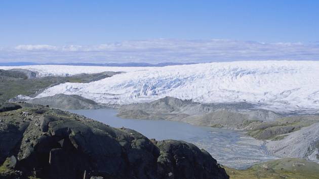 Jezera v Grónsku. Ilustrační foto.