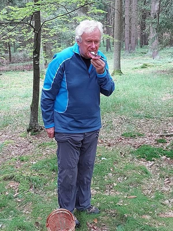 Holubinky jako jediné Oldřich Jindřich ochutnává