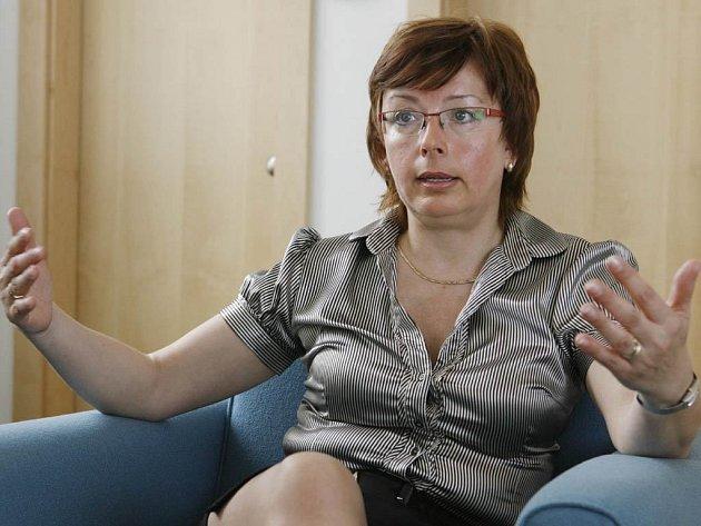 Manažerka EURES Věra Kolmerová