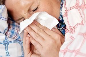 Chřipka. Ilustrační snímek