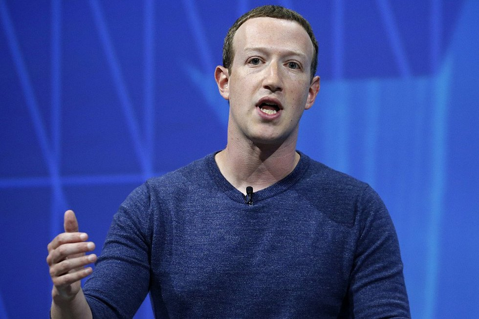 Zakladatel Facebooku Mark Zuckerberg