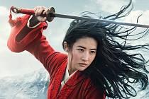 Yifei Liu ve filmu Mulan