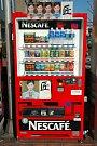 Venkovní automat Nescafé