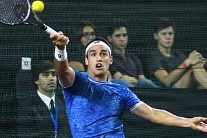 Argentinský tenista Nicolás Kicker.