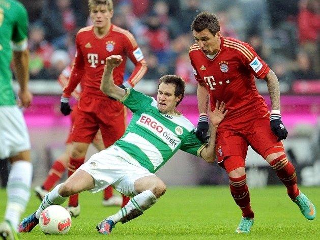 Fotbalisté Bayernu úspěšně vstoupili do jarní části bundesligy.