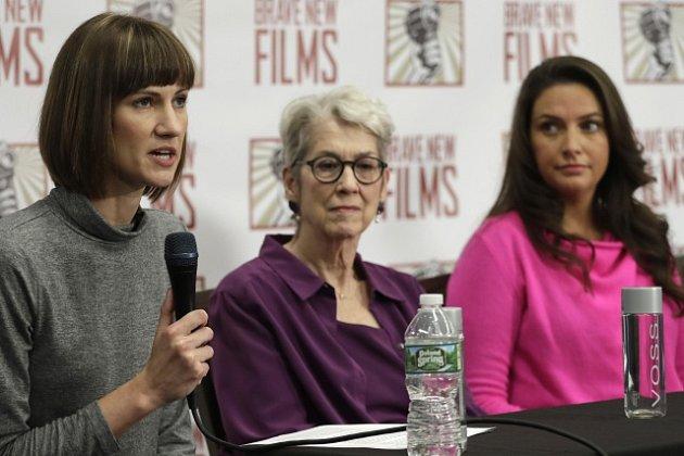 Rachel Crooksová, Jessica Leedsová a Samantha Holveyová. Nejen tyto tři ženy údajně obtěžoval Donald Trump.