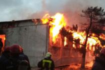 Plameny zachvátily v noci rehabilitační středisko pro drogově závislé.