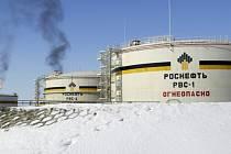 Nádrže ropné společnosti Rosněft