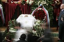 Pohřeb hudebníka Mstislava Rostropoviče