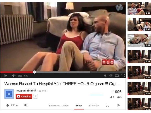 Liz ze Seattlu přivedl tříhodinový orgasmus až na pohotovost.