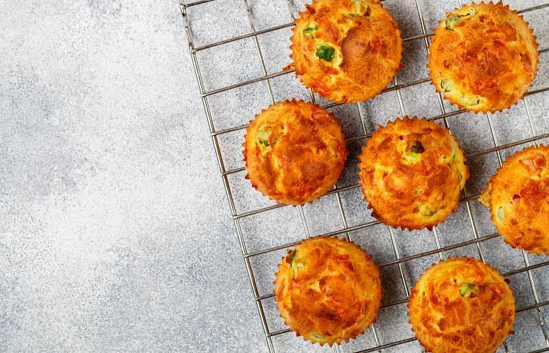 Sýrové muffiny