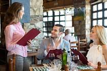 Objednáváme jídlo v restauraci
