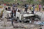 Somálsko, Mogadišu, exploze