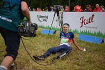 MS v orientačním běhu: Závod na klasické trati a radost i vyčerpaní Miloše Nykodýma