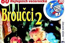 DVD Broučci 2