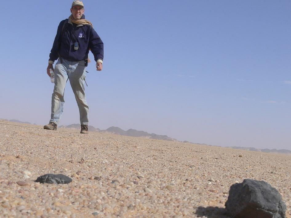 Dne 8. února 2009 našel výzkumník Peter Jenniskens s pomocí studentů a zaměstnanců univerzity v Chartúmu svůj první fragment 2008 TC3