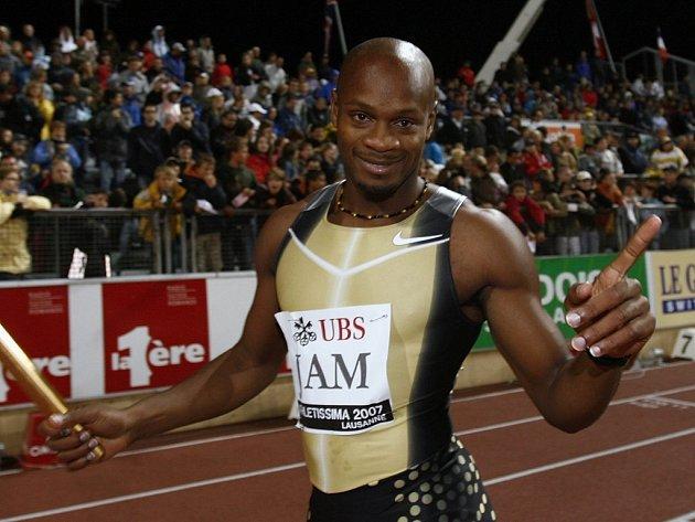 Jamajský sprintér Asafa Powell.