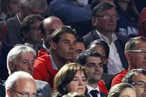 Na finálový zápas svých krajanů na basketbalovém ME se přijel podívat i španělský tenista Rafael Nadal.