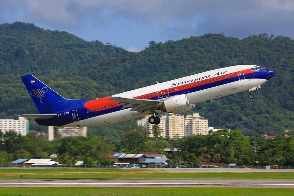 Boeing 737 společnosti Sriwijaya Air - Ilustrační foto